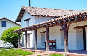The old Sonoma Mission