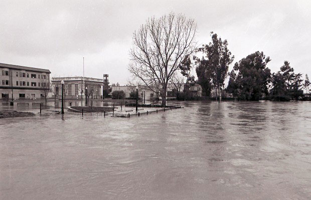 Napa flood 1986